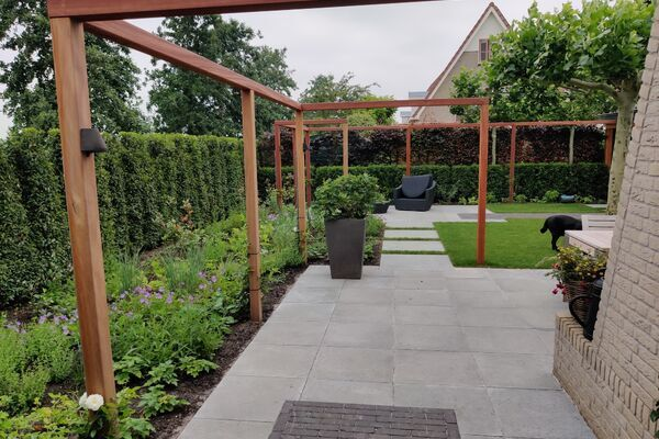 moderne tuin, IJsselstein